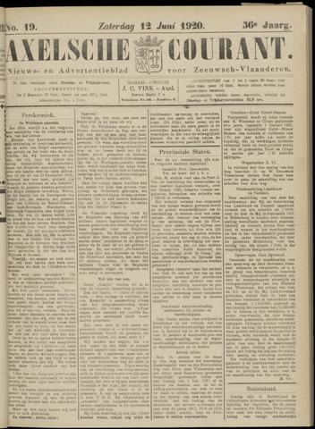 Axelsche Courant 1920-06-12