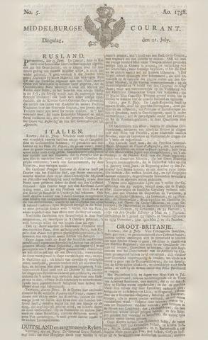 Middelburgsche Courant 1758-07-11