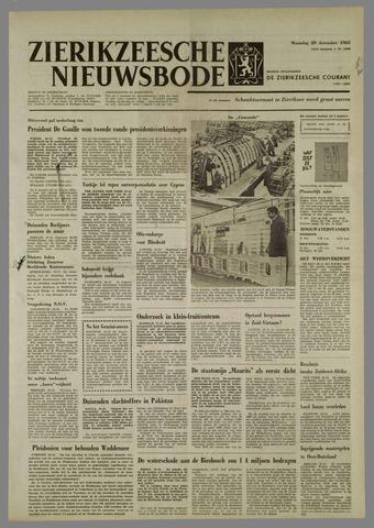 Zierikzeesche Nieuwsbode 1965-12-20