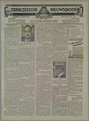 Zierikzeesche Nieuwsbode 1936-05-18