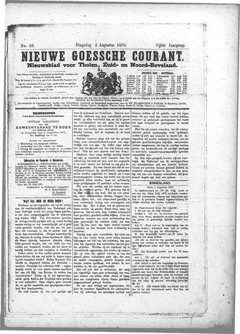 Nieuwe Goessche Courant 1870-08-02