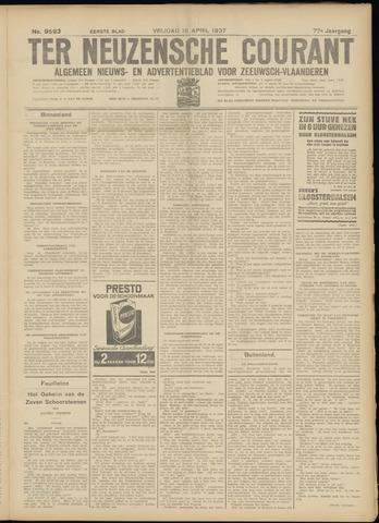 Ter Neuzensche Courant. Algemeen Nieuws- en Advertentieblad voor Zeeuwsch-Vlaanderen / Neuzensche Courant ... (idem) / (Algemeen) nieuws en advertentieblad voor Zeeuwsch-Vlaanderen 1937-04-16