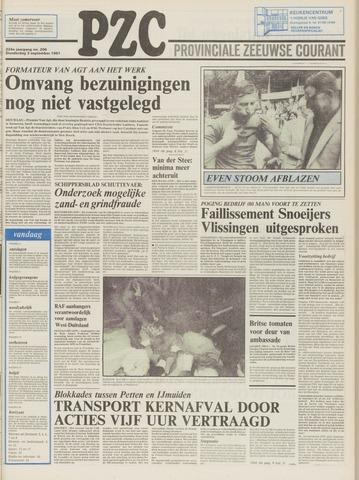 Provinciale Zeeuwse Courant 1981-09-03