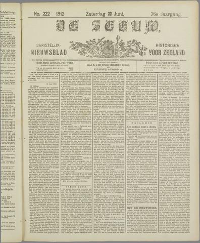 De Zeeuw. Christelijk-historisch nieuwsblad voor Zeeland 1912-06-22