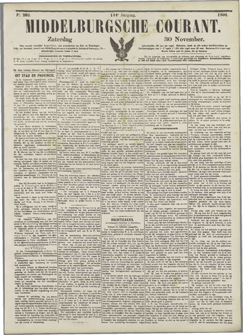 Middelburgsche Courant 1901-11-30