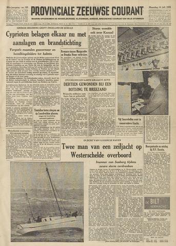 Provinciale Zeeuwse Courant 1958-07-14