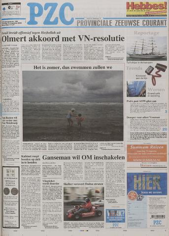 Provinciale Zeeuwse Courant 2006-08-12