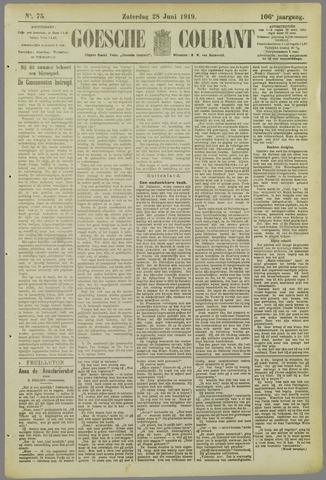 Goessche Courant 1919-06-28