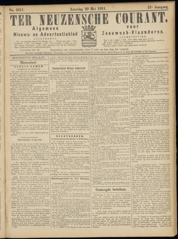 Ter Neuzensche Courant. Algemeen Nieuws- en Advertentieblad voor Zeeuwsch-Vlaanderen / Neuzensche Courant ... (idem) / (Algemeen) nieuws en advertentieblad voor Zeeuwsch-Vlaanderen 1911-05-20