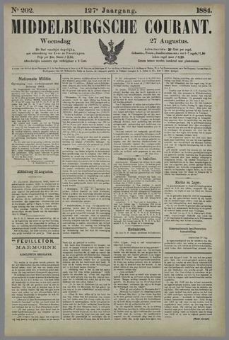 Middelburgsche Courant 1884-08-27