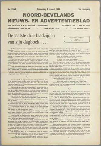 Noord-Bevelands Nieuws- en advertentieblad 1948