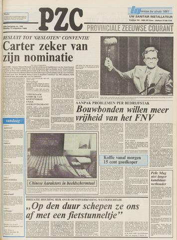 Provinciale Zeeuwse Courant 1980-08-12