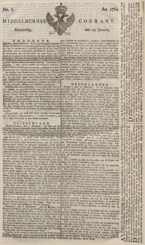Middelburgsche Courant 1764-01-19