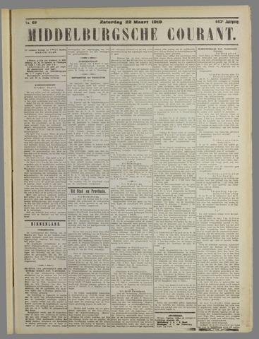 Middelburgsche Courant 1919-03-22