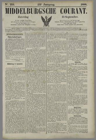 Middelburgsche Courant 1888-09-15