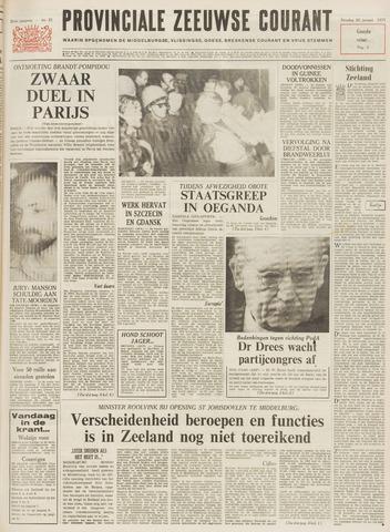 Provinciale Zeeuwse Courant 1971-01-26