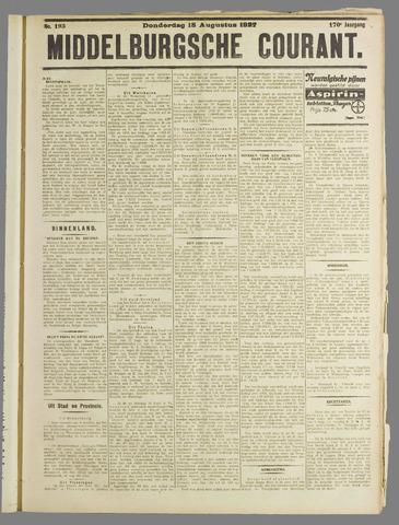 Middelburgsche Courant 1927-08-18