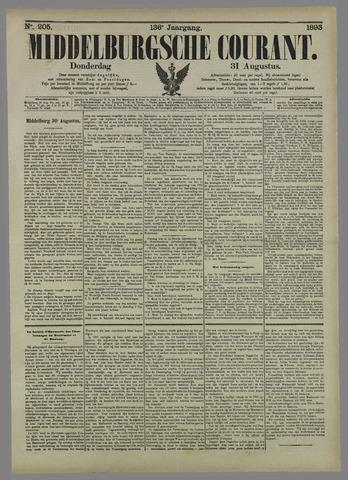 Middelburgsche Courant 1893-08-31