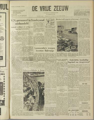 de Vrije Zeeuw 1960-08-29