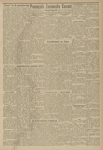 Provinciale Zeeuwse Courant 1945-08-08