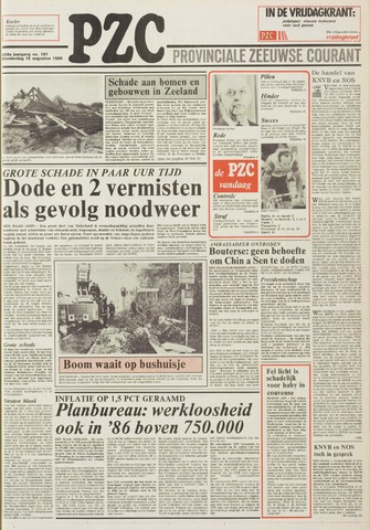 Provinciale Zeeuwse Courant 1985-08-15