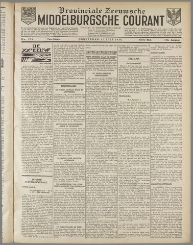 Middelburgsche Courant 1930-07-31