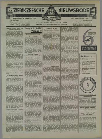 Zierikzeesche Nieuwsbode 1937-02-03