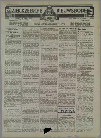 Zierikzeesche Nieuwsbode 1936-04-03