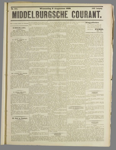 Middelburgsche Courant 1925-08-05