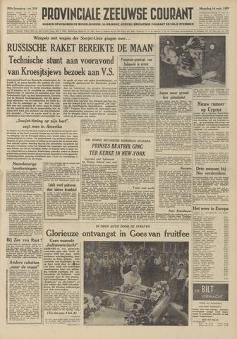 Provinciale Zeeuwse Courant 1959-09-14