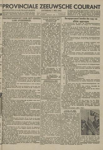 Provinciale Zeeuwse Courant 1943-05-01