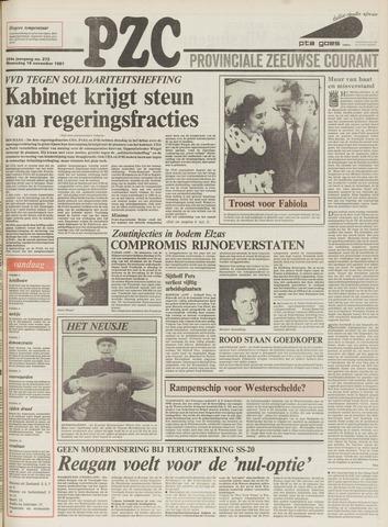 Provinciale Zeeuwse Courant 1981-11-18