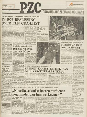 Provinciale Zeeuwse Courant 1975-02-24