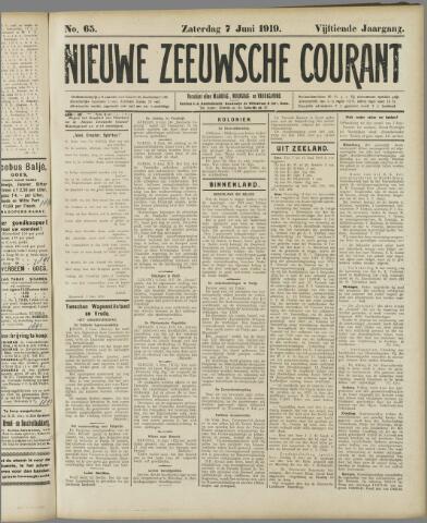 Nieuwe Zeeuwsche Courant 1919-06-07