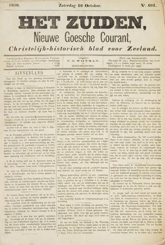 Het Zuiden, Christelijk-historisch blad 1880-10-16