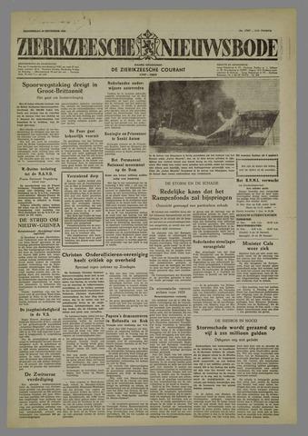 Zierikzeesche Nieuwsbode 1954-12-30