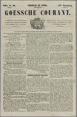 Goessche Courant 1867-04-12