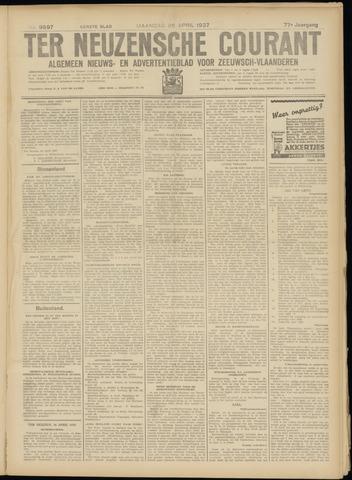 Ter Neuzensche Courant. Algemeen Nieuws- en Advertentieblad voor Zeeuwsch-Vlaanderen / Neuzensche Courant ... (idem) / (Algemeen) nieuws en advertentieblad voor Zeeuwsch-Vlaanderen 1937-04-26
