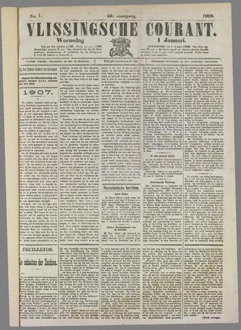 Vlissingse Courant 1908