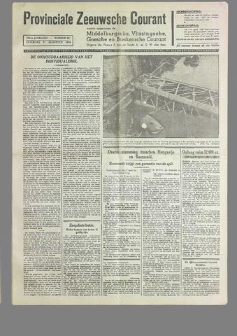 Provinciale Zeeuwse Courant 1940-08-31