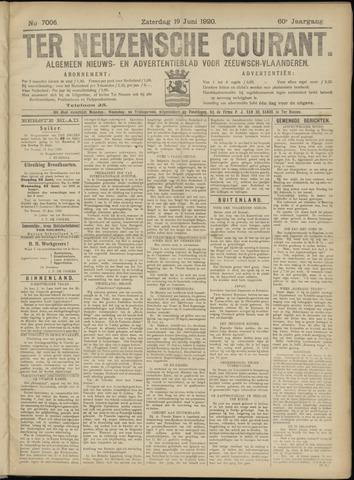 Ter Neuzensche Courant. Algemeen Nieuws- en Advertentieblad voor Zeeuwsch-Vlaanderen / Neuzensche Courant ... (idem) / (Algemeen) nieuws en advertentieblad voor Zeeuwsch-Vlaanderen 1920-06-19
