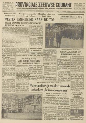 Provinciale Zeeuwse Courant 1960-05-16