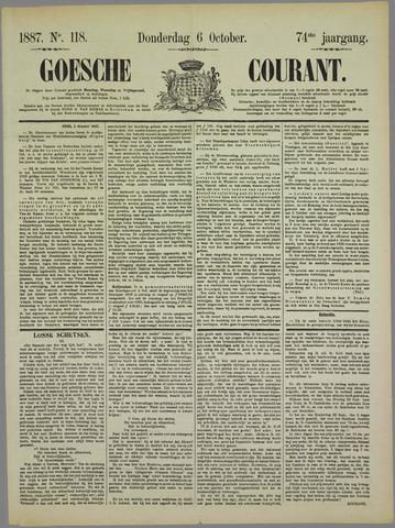 Goessche Courant 1887-10-06
