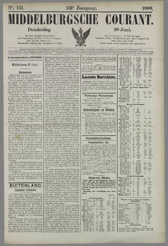 Middelburgsche Courant 1888-06-28