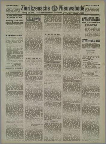 Zierikzeesche Nieuwsbode 1933-09-29