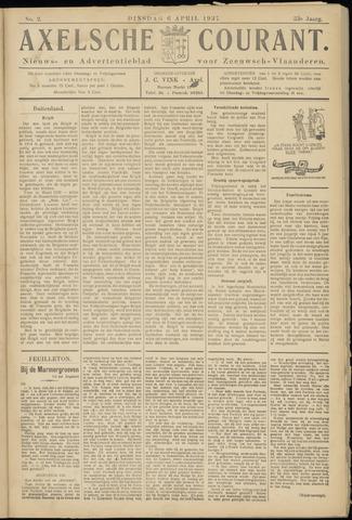 Axelsche Courant 1937-04-06
