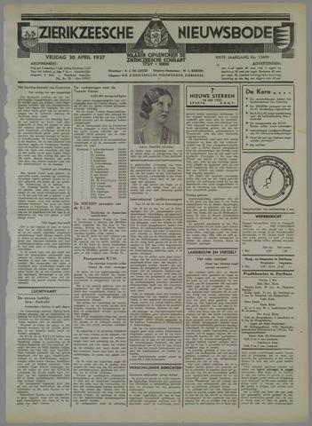 Zierikzeesche Nieuwsbode 1937-04-30