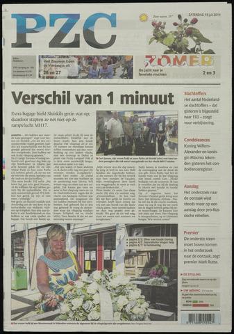 Provinciale Zeeuwse Courant 2014-07-19