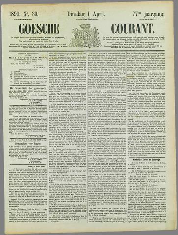 Goessche Courant 1890-04-01
