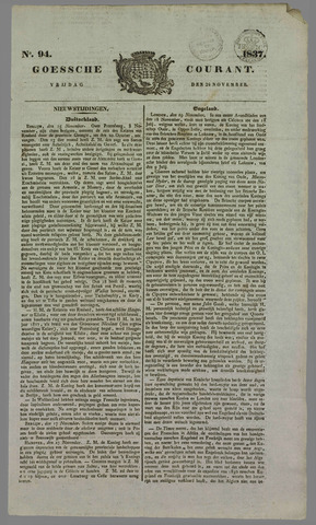 Goessche Courant 1837-11-24